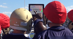 Display Coach's Office playbook on iPad